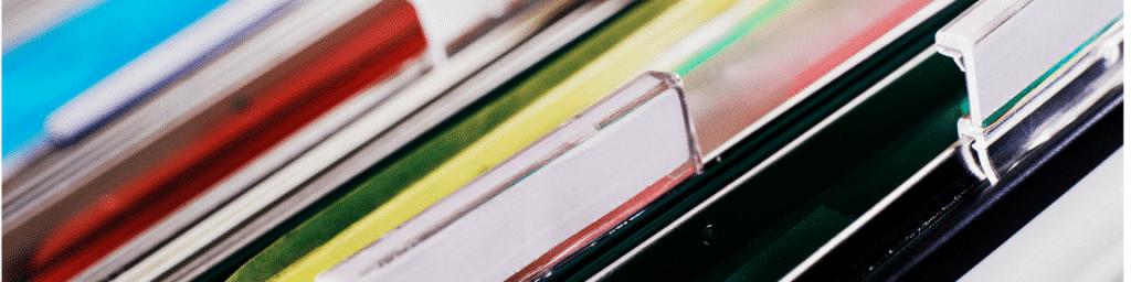 File Folders Tabs for Expert Witness